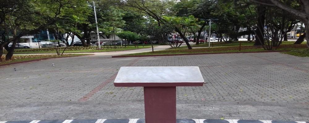 praça da Bíblia - Centro de S.Caetano do Sul